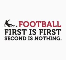 Football - Second is Nothing by artpolitic