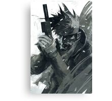 LIQUID SNAKE Canvas Print