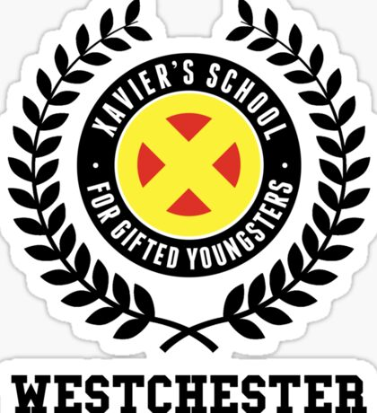 xavier's school for gifted youngsters (classic) Sticker