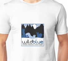 Wild Blue Animal Rescue and Sanctuary Logo Unisex T-Shirt