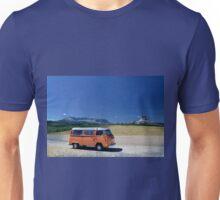 Montana Mountains Volkswagen Westfalia Bus VW Unisex T-Shirt