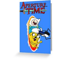 Aperture Time! with Finn and Jake Greeting Card
