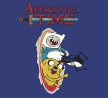 Aperture Time! with Finn and Jake by zenjamin