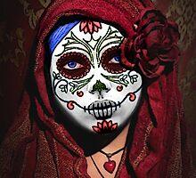 Sugar Skull / Calavera / Catrina by BagChemistry
