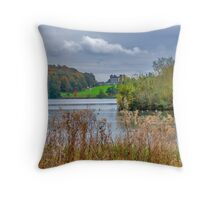 Great Lake Castle Howard Throw Pillow