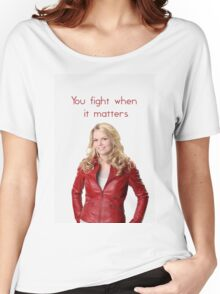 You fight. Women's Relaxed Fit T-Shirt