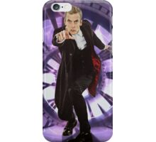 Crouching Capaldi iPhone Case/Skin