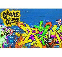 Game Over Photographic Print