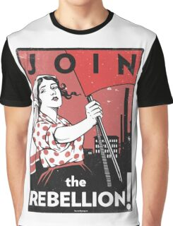 Join the Rebellion! Graphic T-Shirt