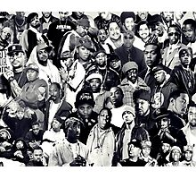 Hip Hop Legends Collage Photographic Print