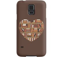 I Heart Books Samsung Galaxy Case/Skin