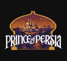 Prince of Persia Pixel Style- Retro DOS game fan shirt Kids Clothes