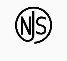 NJS stamp (black print) Unisex T-Shirt