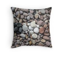 Pebbles In Patterns. Throw Pillow