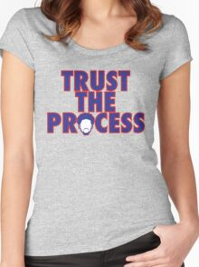 Trust The Process Women's Fitted Scoop T-Shirt