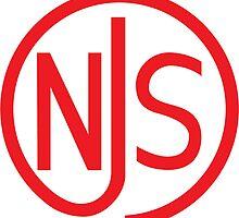 NJS stamp (red print) by Saack City LLC