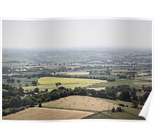 Countryside Landscape. Poster