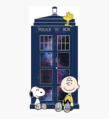 Doctor Who - Charlie Brown Photographic Print