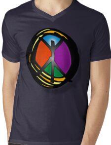 circle of peace Mens V-Neck T-Shirt