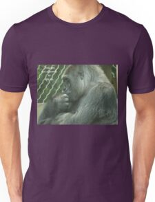 You are not allowed to ape us. T-Shirt
