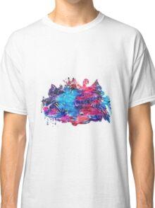 Zen Doodle 1 Magenta (Revised) Classic T-Shirt