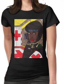 Doctor Knight Womens Fitted T-Shirt