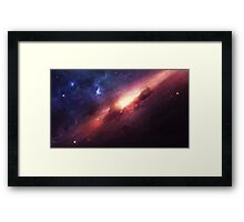 Space is beautiful Framed Print