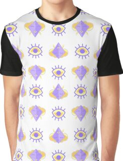 Psychic Space Robot Queen - Royalty Pattern Graphic T-Shirt