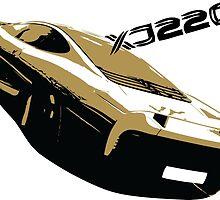 Jaguar XJ220 by blister215