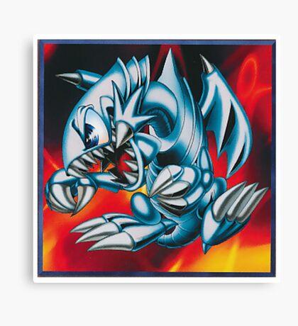 smal blue toon Canvas Print