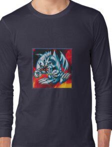 smal blue toon Long Sleeve T-Shirt