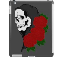 Grim reaper and roses iPad Case/Skin