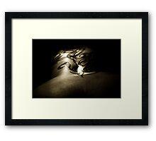 Model Zoe VI Framed Print