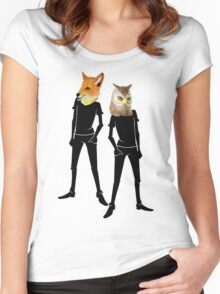 Anthropomorphism Women's Fitted Scoop T-Shirt