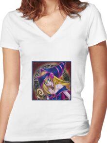 dm girl Women's Fitted V-Neck T-Shirt