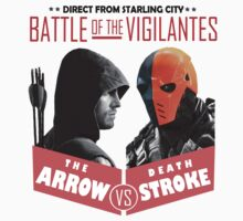 Arrow - Battle of the Vigalantes T-Shirt