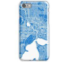 Perth (Blue) iPhone Case/Skin
