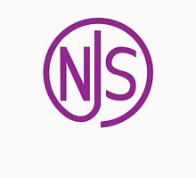NJS stamp (purple print) Unisex T-Shirt