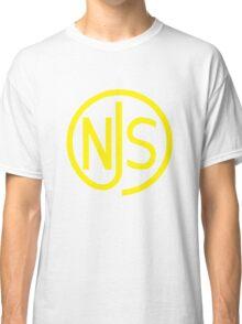 NJS stamp (yellow print) Classic T-Shirt