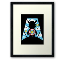 Captain Plumber Framed Print