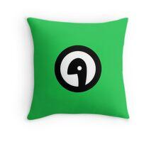 Dinofarm Games Logo Throw Pillow