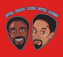 Evil Troy and Evil Abed Kids Clothes