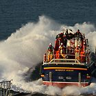 Bembridge Lifeboat Launch by Jonathan Cox