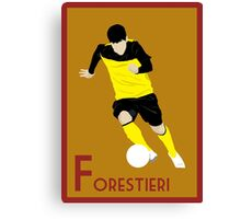 F: Fernando Forestieri POSTER Canvas Print