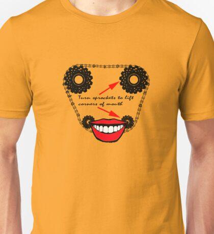Cycling TShirt Cycling makes you happy Unisex T-Shirt