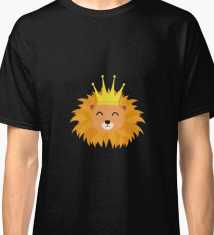 Lion head with crown Classic T-Shirt