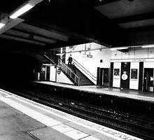 Tube Station by Sajeev Chandrasekhara Pillai