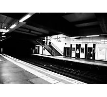 Tube Station Photographic Print