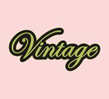 Vintage Lemon Kids Clothes