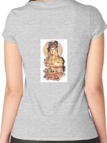 Golden Madonna #1 Women's Fitted Scoop T-Shirt